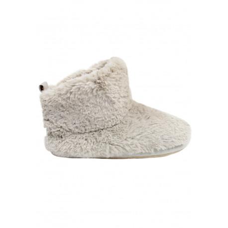 Chaussons Boots FOURRURE naturel