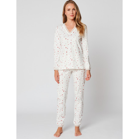 Pyjama en coton LATTE 902