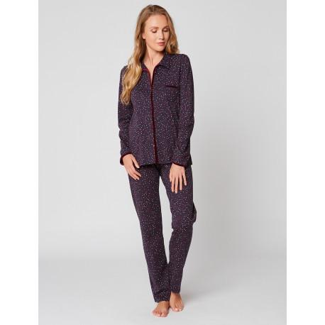 Pyjama boutonné en coton SMARTY 906
