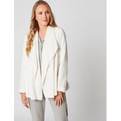 Veste homewear en fourrure ESSENTIEL H73A Ecru