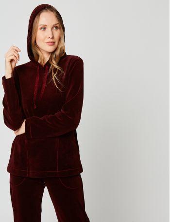 Sweatshirt velours PANDORA 230