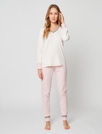 Pyjama COCOON 202 Rose chiné