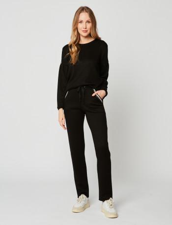 Pantalon MAILLE LOVE 280 Noir