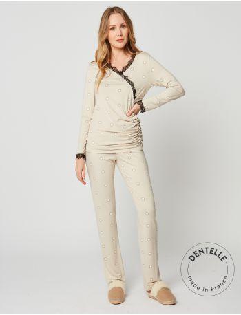 Long-sleeved pyjamas OPALE 202